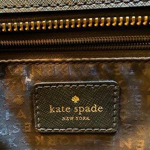 kate spade Bags - Kate Spade Black Leather Tote Purse